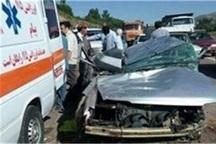 سانحه رانندگی در گناباد پنج مصدوم داشت