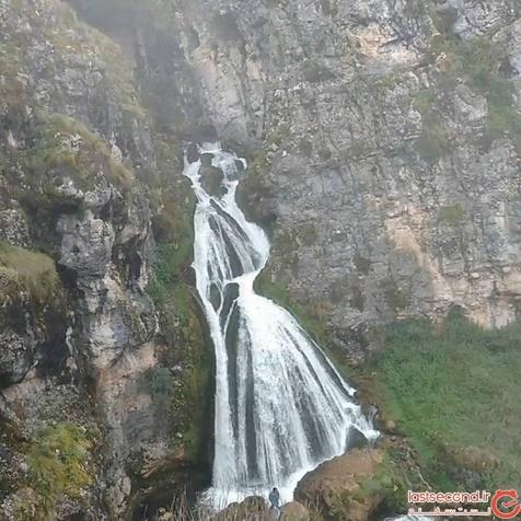 این آبشار درست شبیه به یک عروس است+ عکس