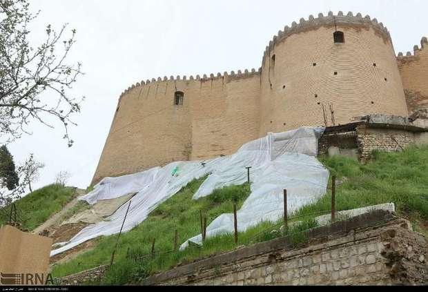 طرح حفاظت اضطراری قلعه فلک الافلاک و پل کشکان ابلاغ میشود