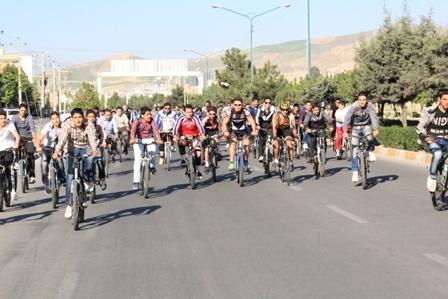همایش بزرگ دوچرخه سواری در مشهد