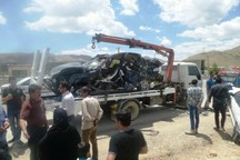 سانحه رانندگی در اسدآباد یک کشته برجا گذاشت