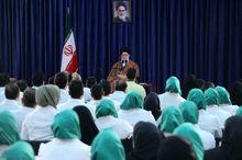 دیدار مدالآوران کاروان ورزشی ایران در بازیهای پاراآسیایی اندونزی با رهبر معظم انقلاب
