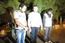 دستگیری آدم ربایان