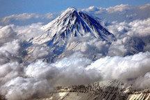 ریزش کوه در ارتفاعات دماوند