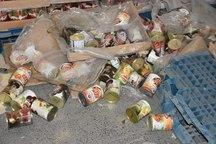 5 تن مواد غذایی تاریخ مصرف گذشته در یاسوج کشف و ضبط شد