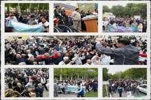 همایش بزرگ پیاده روی خانوادگی در نظرآباد برگزار شد