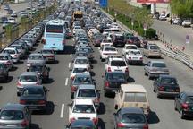 جاده کرج- چالوس پرترافیک است