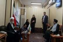 دیدار رئیس سازمان تبلیغات اسلامی کشور با امام جمعه سنندج