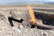 سیل گاز 4 روستای ماهنشان را قطع کرد