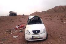 واژگونی خودرو در ملکشاهی یک کشته بر جا گذاشت