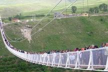 سومین پل معلق استان اردبیل در خلخال راه اندازی می شود