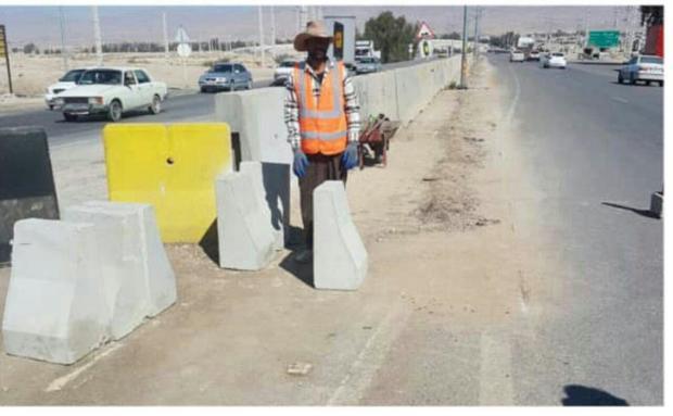 بزرگراه جهرم - شیراز در حال توسعه است