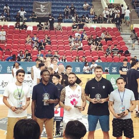 بسکتبالیست ایرانی در جمع 5 بازیکن برتر جام ویلیام جونز2017