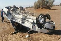 واژگونی خودرو در جاده داورزن - سبزوار 2 کشته داشت
