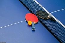 مسابقات رنکینگ تنیس روی میز جوانان استان مرکزی برگزار شد