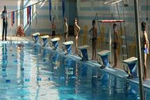 اردبیل میزبان مسابقات شنای قهرمانی نوجوانان کشور شد
