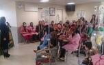 جشن سال نو در بخش اطفال بیمارستان میلاد برگزار شد