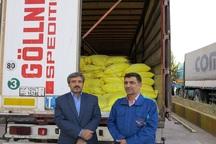صدور نخستین محموله آرد از گناباد به افغانستان