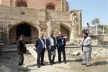مرمت مسجد جامع ارومیه تا بازگشایی کامل حجره ها ادامه می یابد