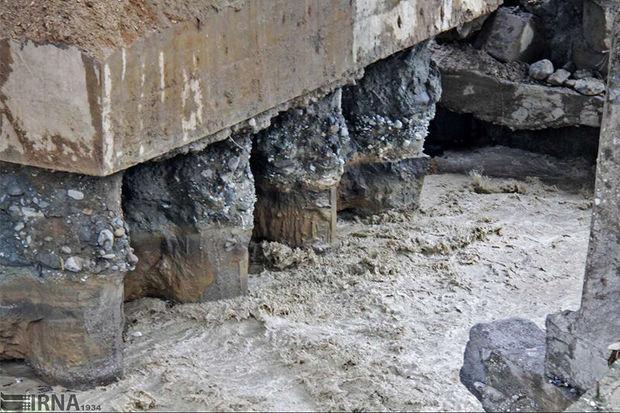 """بازسازی نیاز ضروری پل """"کرکرودسر"""" نوشهر است"""