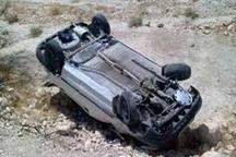 واژگونی خودرو در محور اهرم2 کشته برجای گذاشت