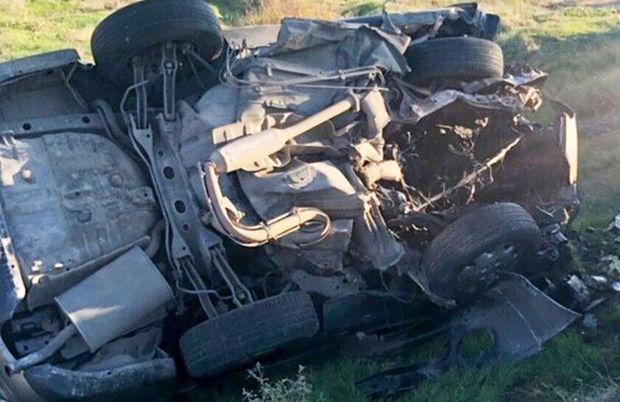 واژگونی خودرو در علیآباد کتول دو کشته برجای گذاشت