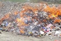 بیش از 18 تن مواد غذایی فاسد در ایرانشهر معدوم شد