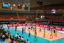 تیم والیبال امید چین مالزی را مغلوب خود کرد
