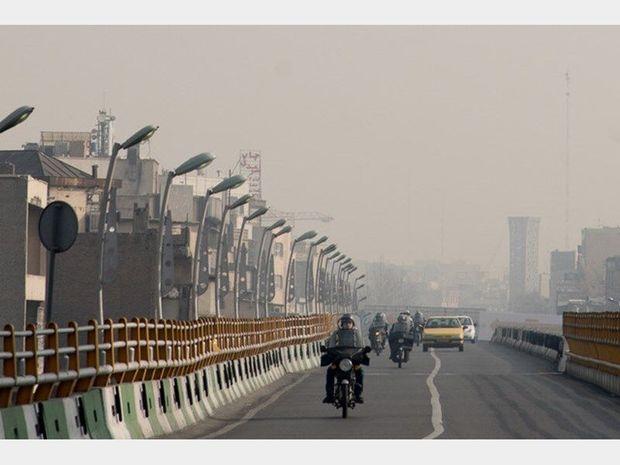 افزایش آلایندهها و ابر برای البرز پیشبینی شد