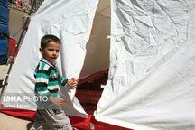 90 درصد خانههای زلزلهزده در روستای ایوق قابل اسکان نیستند  برپایی 150 چادر برای اسکان موقت زلزلهزدگان