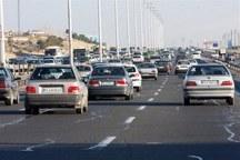 آزادراه های قزوین با ترافیک سنگینی روبرو است