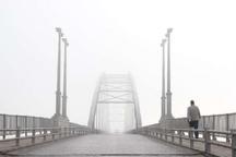 مه رقیق صبحگاهی در آسمان خوزستان ماندگار است
