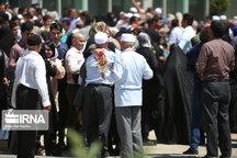 اولین گروه حجاج گلستانی وارد فرودگاه گرگان شدند