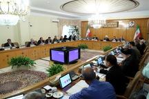 گزارشهای مهم مطرح شده در جلسه امروز هیات دولت