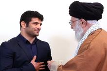 رهبر معظم انقلاب در دیدار علیرضا کریمی: از کار شما احساس عزت کردم