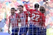 پیروزی اتلتیکو مادرید به لطف گل به خودی وایادولید