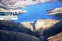 374 میلیون مترمکعب آب وارد سدهای ایلام شد