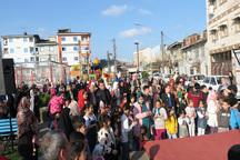 برگزاری جشن های نوروزی در محلات کلانشهر رشت