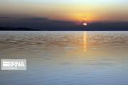 تراز دریاچه ارومیه یک متر و یک سانتیمتر بالاتر از سال گذشته