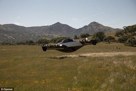 برای راندن این خودروی پرنده، نیازی به گواهینامه خلبانی ندارید!