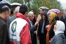 امدادرسانی به مناطق سیلزده غرب گیلان در حال انجام است