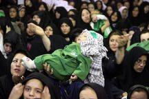 کودکان کرمانشاهی با طفل 6 ماهه دشت کربلا همنوا شدند