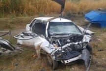سانحه رانندگی در یزد 2 کشته و چهار زخمی برجای گذاشت