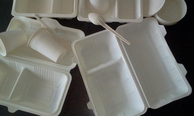 توزیع نذورات در ظروف استاندارد باید انجام شود