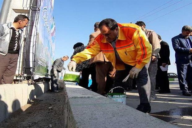 طرح آماده سازی جهادی برای استقبال از نوروز در ارومیه آغاز شد