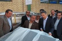 بازدید استاندار از شرکت الگانت در سمنان