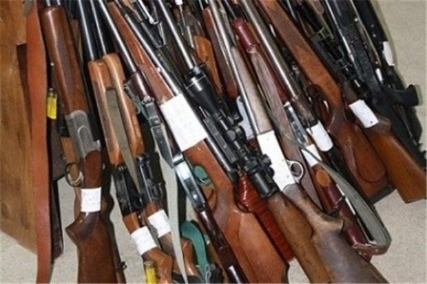 43قبضه سلاح غیرمجاز در آبادان کشف و ضبط شد
