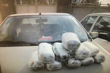 2 قاچاقچی با بیش از 55 کیلوگرم مواد مخدر در قزوین دستگیر شدند