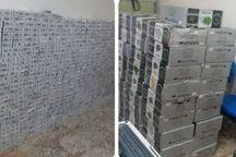۴۶ هزار نخ سیگار قاچاق در ماکو کشف شد