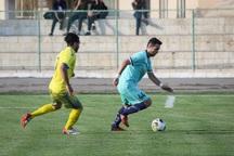 تیم فوتبال 90 ارومیه مقابل فجر سپاسی شیراز به تساوی رسید